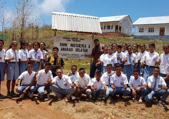 Roadshow CSR AXIOO MENGAJAR ke SMK Negeri 1 Amarasi Selatan, Nusa tenggara timur