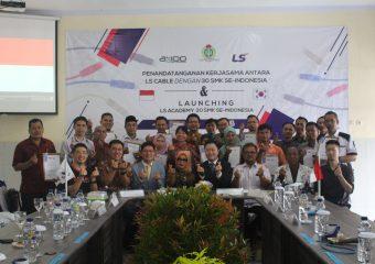 Lauching Ls Academy Pertama di Indonesia dan KUNJUNGAN DELEGASI LS CABLE & SYSTEM KOREA SELATAN