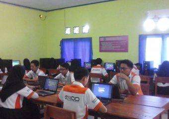 Uji Sertifikasi Internasional Microsoft Network telah dilaksanakan siswa-siswi SMK Miftahussalam Ciamis